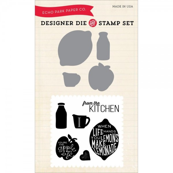 Echo Park Designer Die and stamp Set Free Range