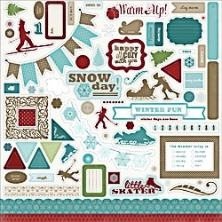 Carta Bella Winter Fun Element Stickers