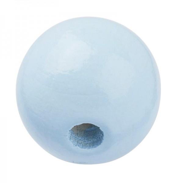 Hobby Fun Schnulli-Holzperle hellblau 15 mm