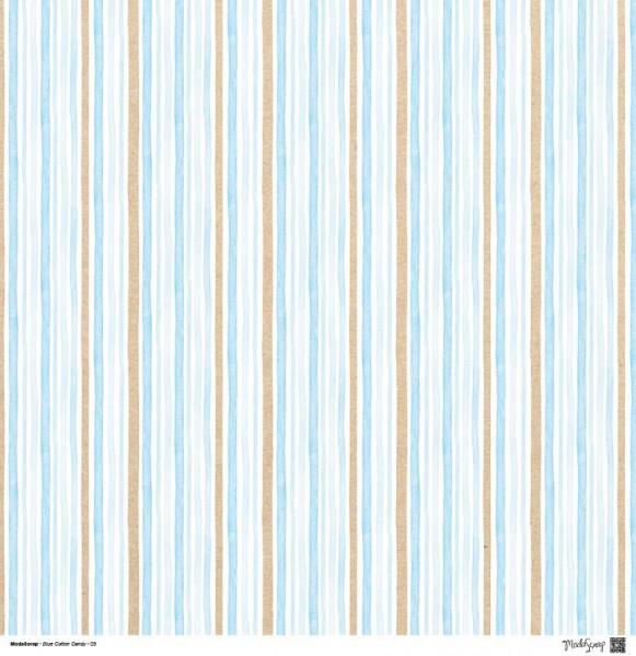 Moda Scrap - Blue Cotton Candy 09