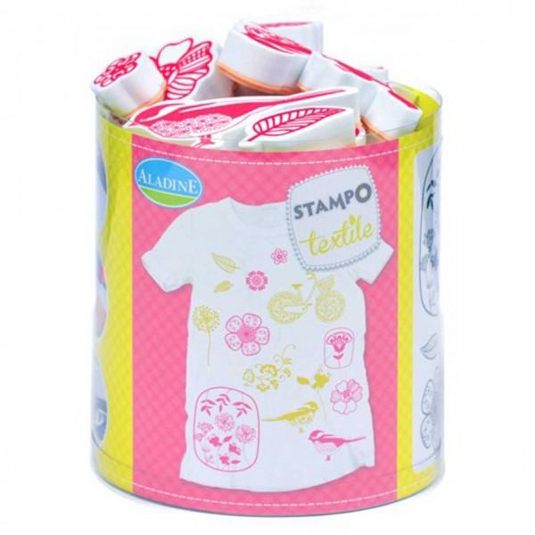 Stampo Textile Fleurs