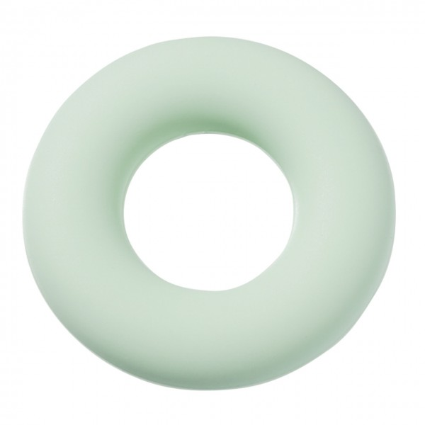 Schnulli-Silikon Ring mint