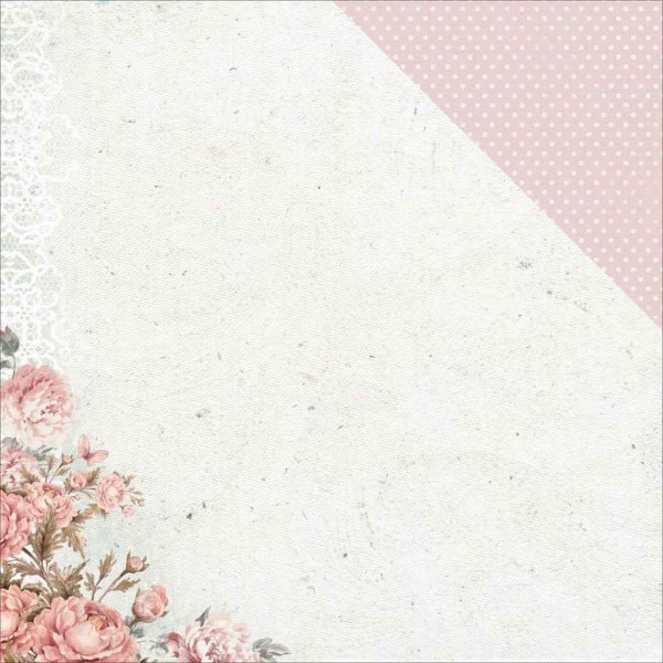 Kaiser Craft Sage & Grace Collection Pink Peony