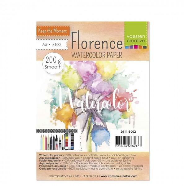 Florence Watercolor Aquarellpapier A5