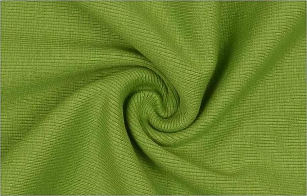 Strickschlauch  Rippe  grün