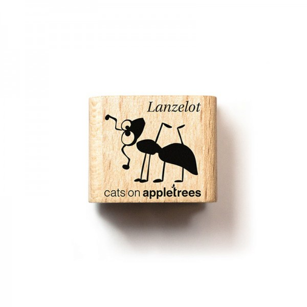 cats on appletrees Ministempel Ameise Lanzelot