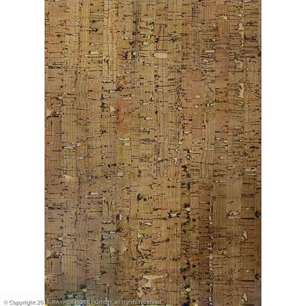 Kork-Papier: Streifen, selbstklebend