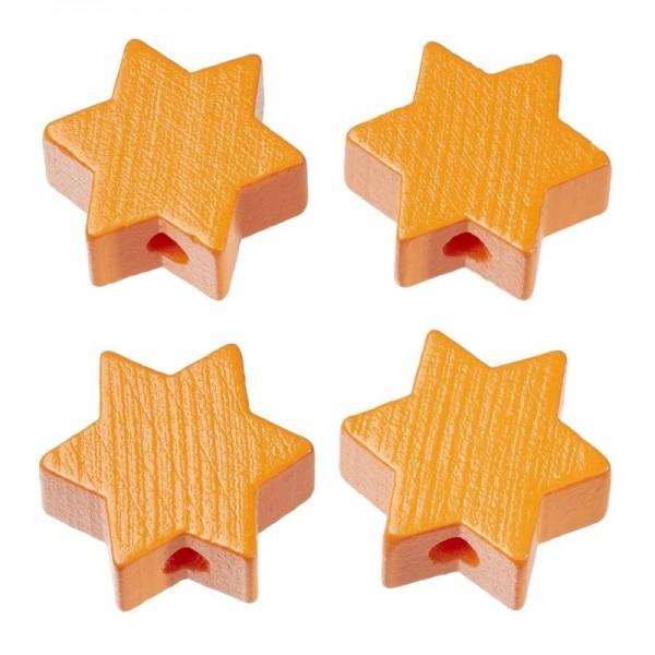 Schnulli Stern orange