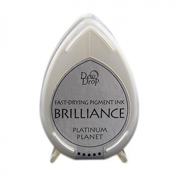 DewDrop Pigment Ink Brilliance platinum planet