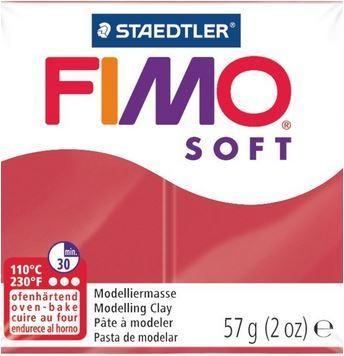 Fimo Soft Kirschrot