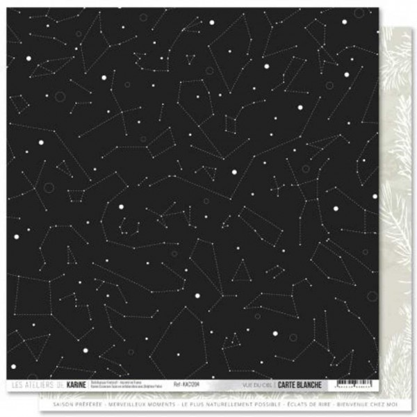 Kirelcraft Karine Carte Blanche vue du ciel