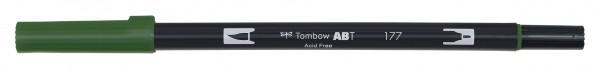Tombow Dual Brush Pen - Dark Jade - Jade dunkel