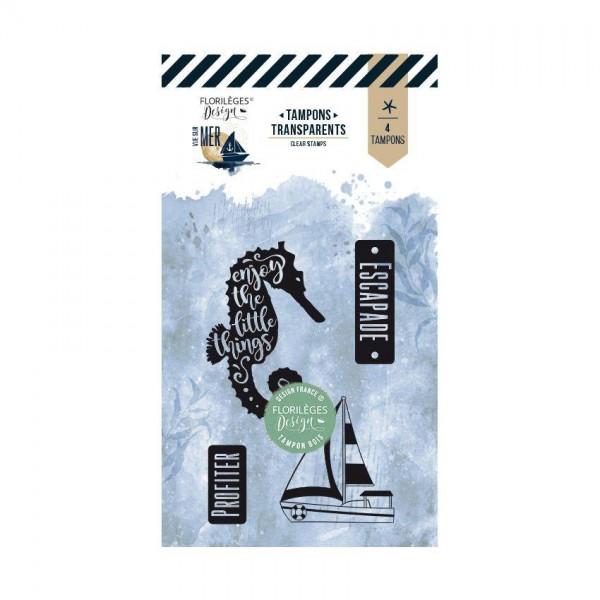 Florileges Clearstempel - ESCAPADE EN MER