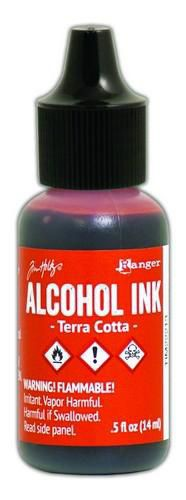 Alcohol Ink Terra Cotta