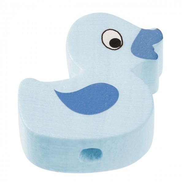 Schnulli Ente hellblau