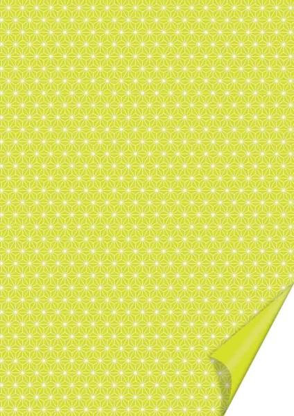 Heyda Motivkarton Starlight A4 lime