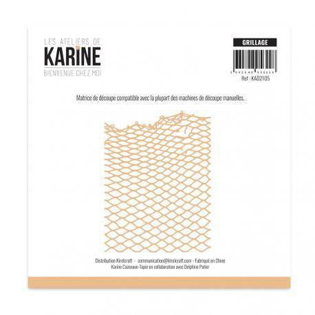 Les Ateliers de Karine Bienvenue chez moi Stanzdie - grillage