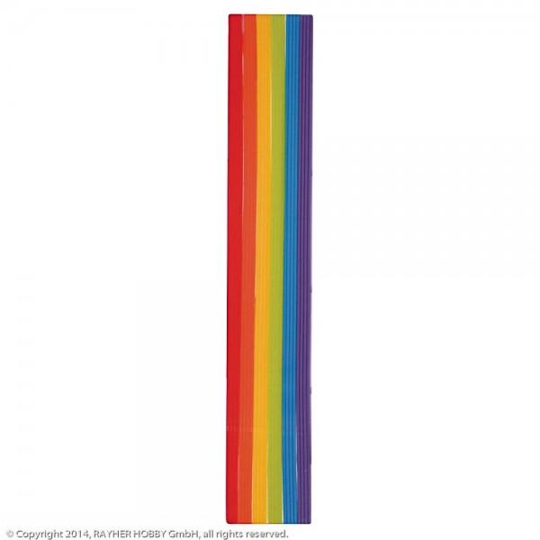 Rayher Wachs Zierstreifen Regenbogen