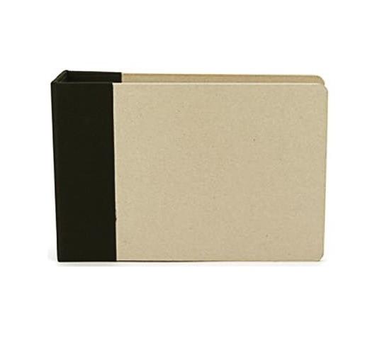 American Crafts modernalbum scwarz 6 x 6 inch