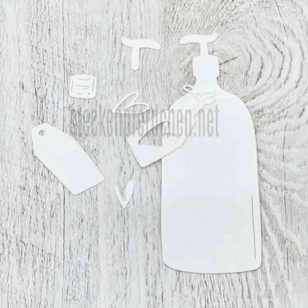 Steckenpferdchenstanze Seifenflasche