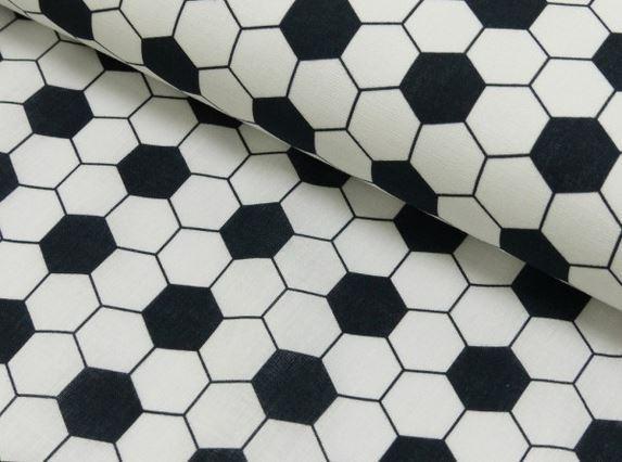 Baumwolldruck Football Texture
