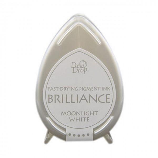 DewDrop Pigment Ink Brilliance moonlight white