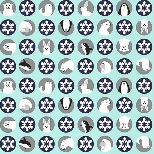 Studioefabrics Artic Girl Tiere