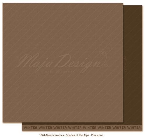 Maja Design Monochromes - Shades of the Alps - Pine cone