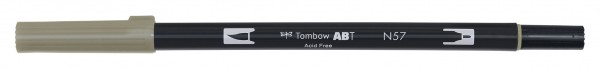 Tombow Dual Brush Pen - Warm Gray 5 - Grauton warm 5