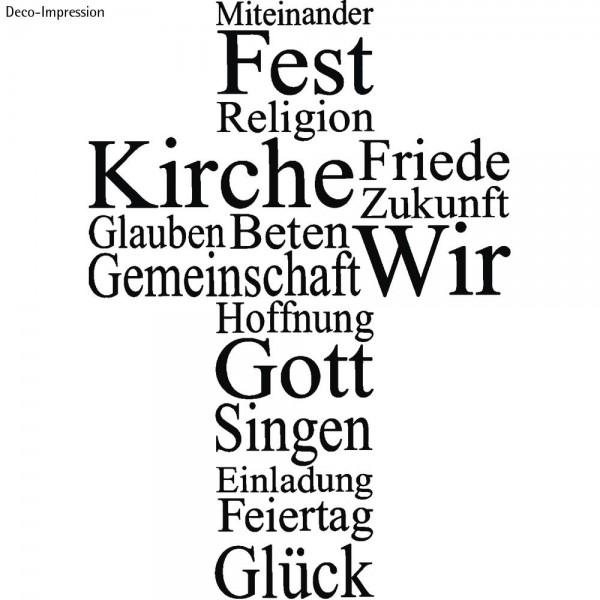 Rayher  Holzstempel - Kreuz