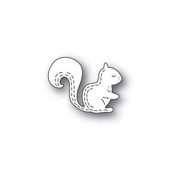 Poppystamps Stanzdie - Whittle Forest Squirrel