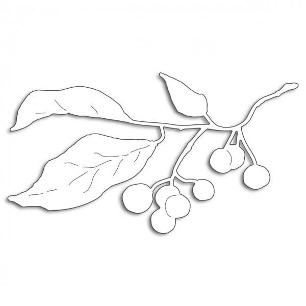 Penny Black Creative Dies winter berry branch