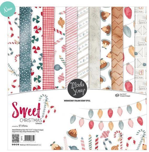 Moda Scrap Paper Pack 12 inch - Sweet Christmas