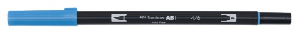 Tombow Dual Brush Pen - Cyan - Cyan