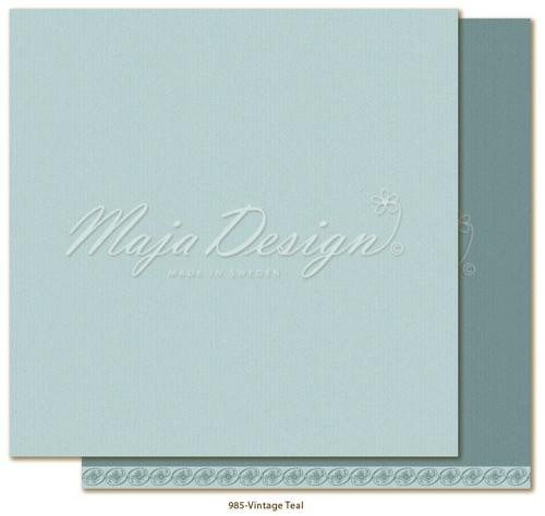 Maja Design Monochromes - Shades of Celebration - Vintage Teal