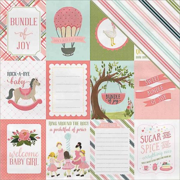 Carta Bella rock a bye Baby Journaling cards