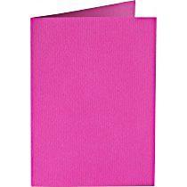 Papiocolor Doppelkarte B 6 hochrosa