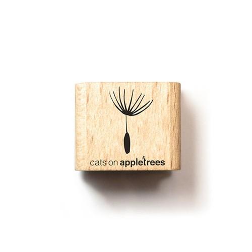 cats on appletrees Holzstempel Pusteblume