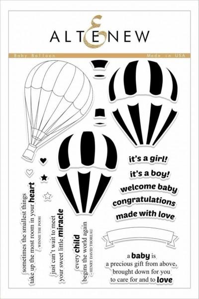 Altenew Clearstempel Set Baby Balloon