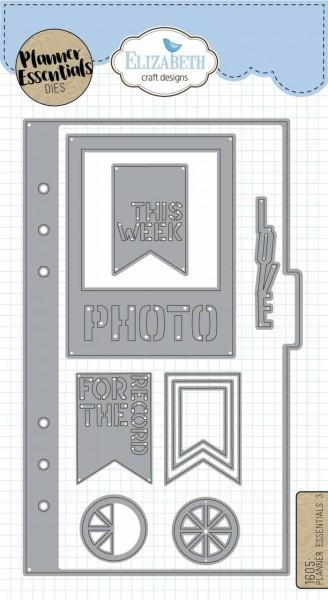 Elisabeth Craft Designs Planner Essentials Dies 3
