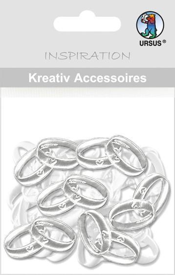 kreativ Accessoires Ringe silber