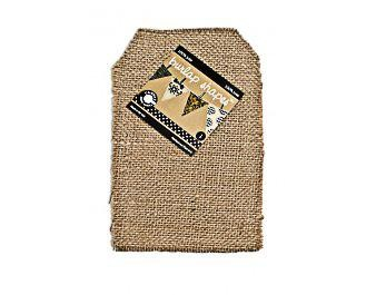 Canvas Corp Jute Tag