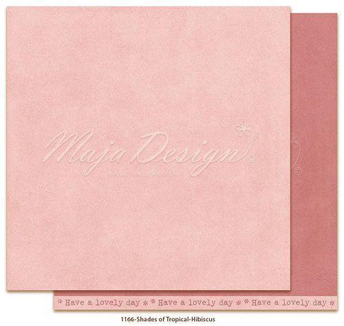 Maja Design Monochromes - Shades of Tropical - Hibiscus