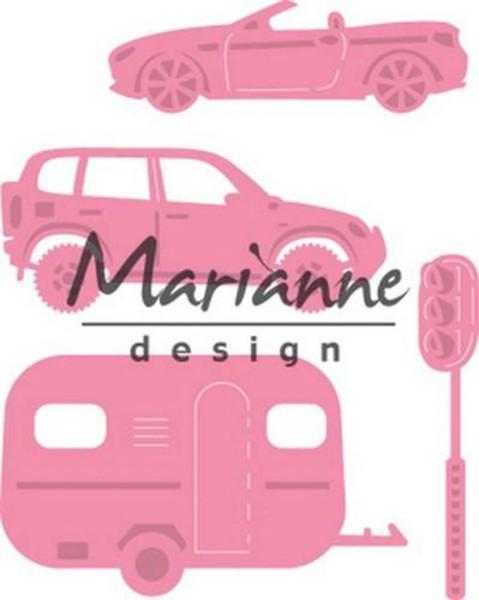 Marianne Design Collectables Fahrzeuge + Ampel