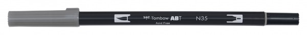 Tombow Dual Brush Pen - Cool Gray 12 - Grauton kalt 12