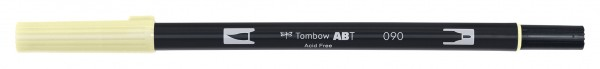 Tombow Dual Brush Pen - Baby Yellow - Baby Gelb Farbnr. 090