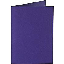 Papiocolor Doppelkarte B 6 dunkellila