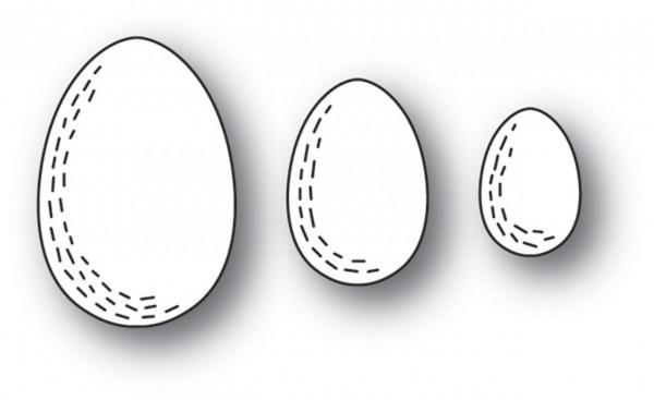 Poppystamps Stanzdie Whittle Eggs