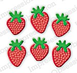 IO Stanzdie small Strawberry Bunch