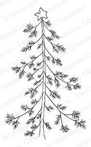Impression Obsession Holzstempel - Woddsie Pine